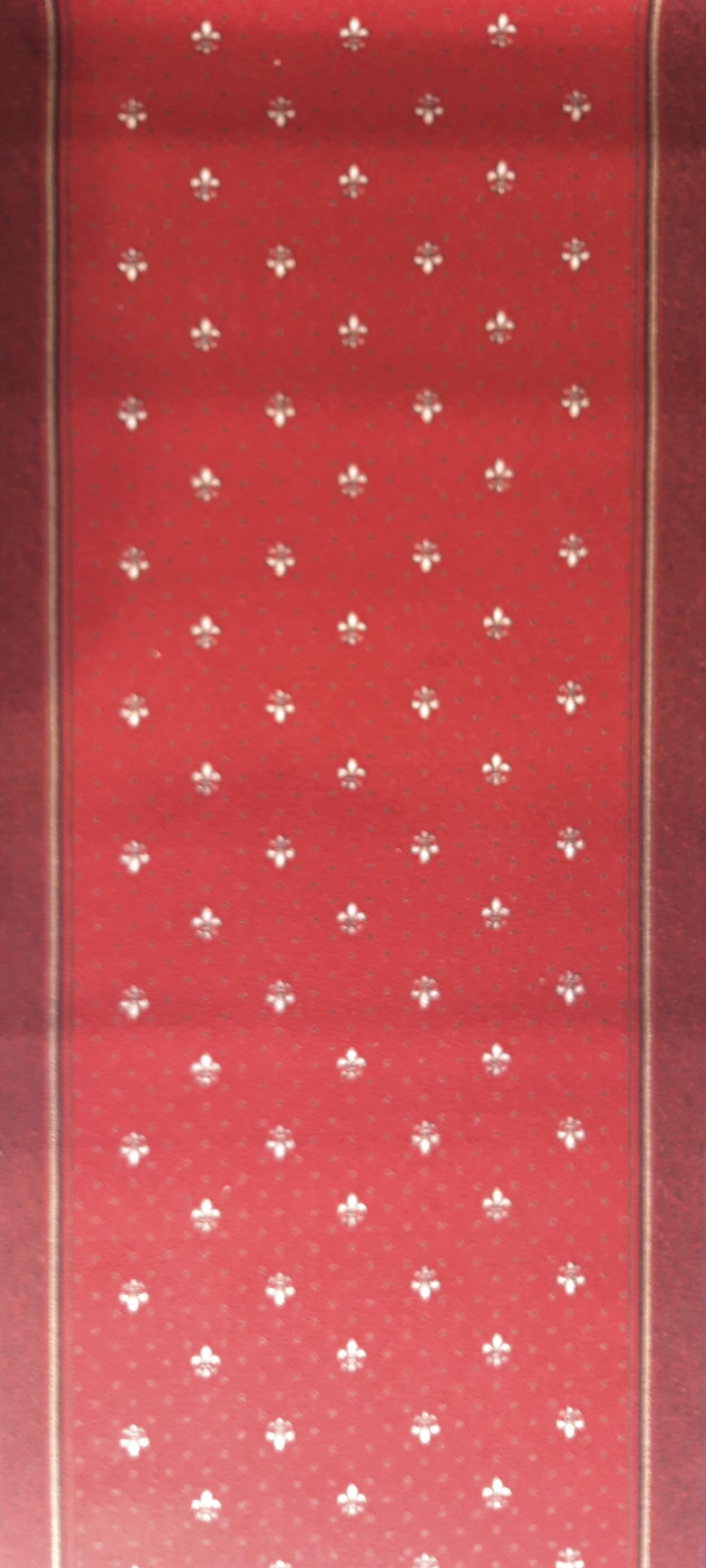 Traversa Tesatura Plata 1835, Rosu, 100x600 cm, 820 gr/mp 1